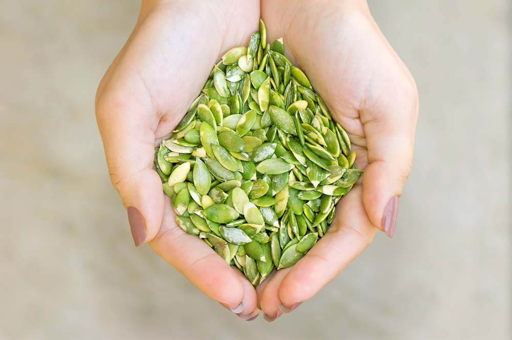 Pumpkin seeds are high in magnesium and can help with magnesium deficiencies and ADHD
